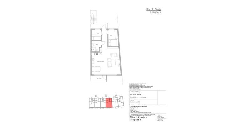 Leilighet J | 2 ETG | 66 KVM | PRIS 3 400 000